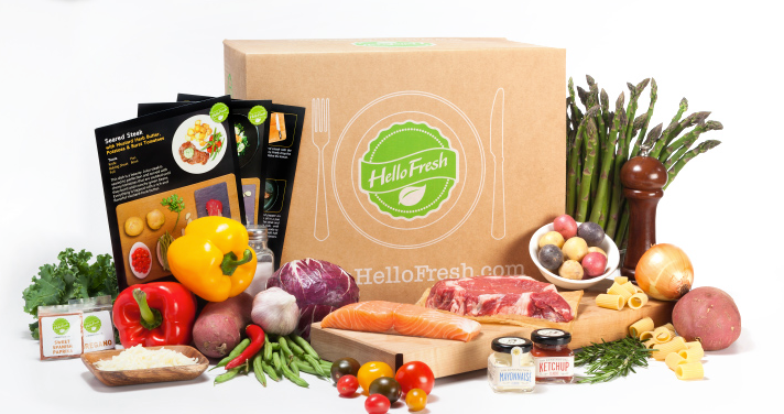 The Hello Fresh Box
