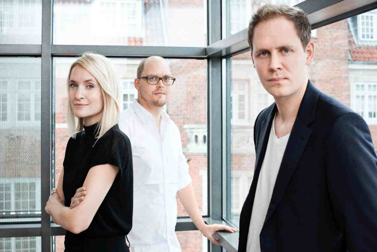 TheFashion Team, right to left: Kasper Vardrup, Ida Adler Olsen, Troels Knak-Nielsen