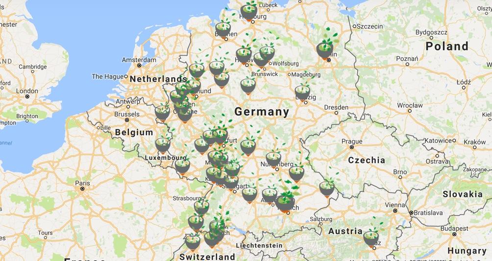Dean & David Locations Germany, Switzerland, Austria