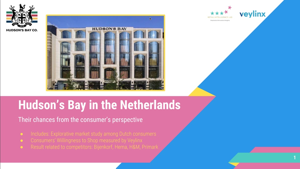 Hudson's Bay in the Netherlands - Buy the Report