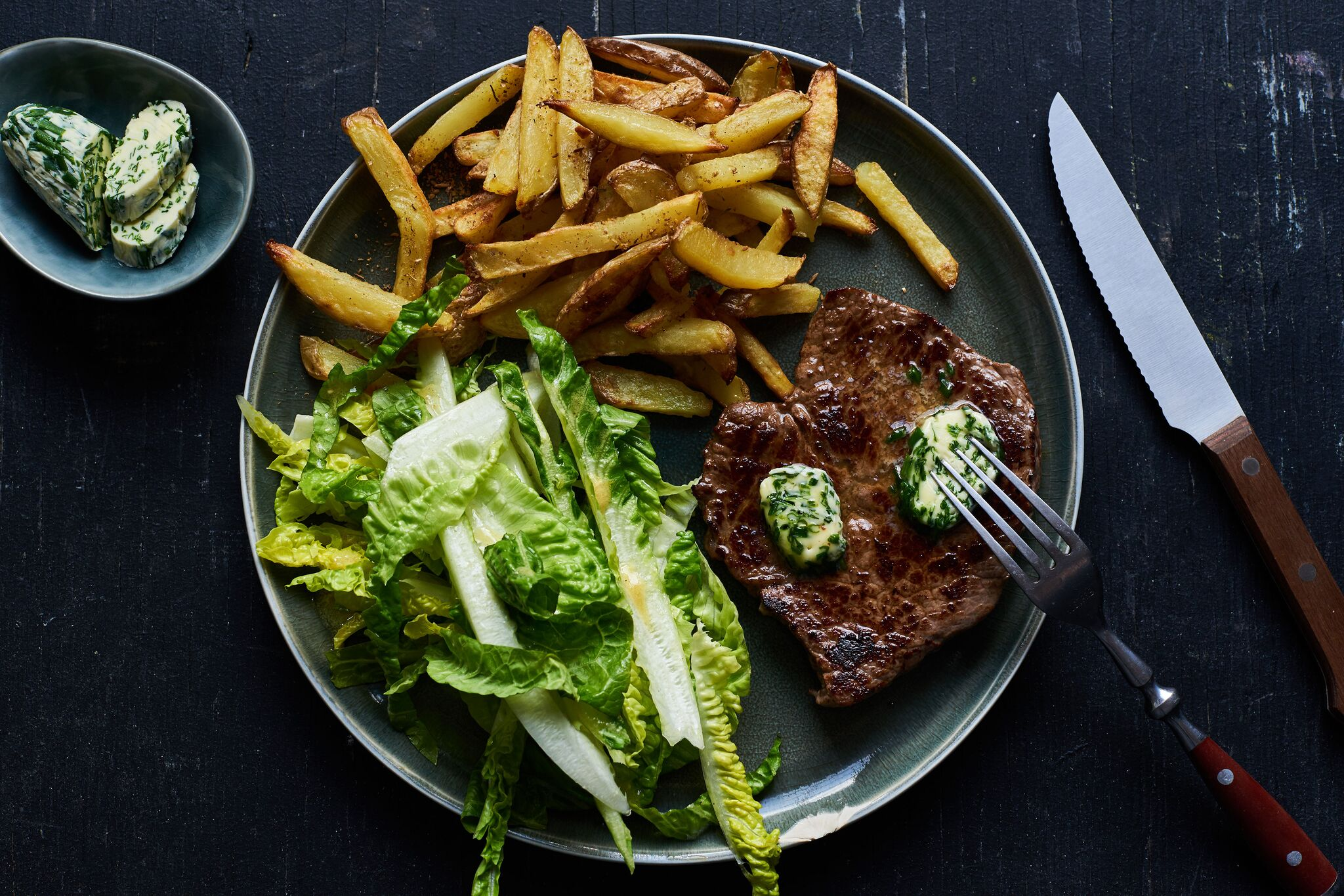 One of Marley Spoon's all-time favorites: steak with fries (source: Marley Spoon)