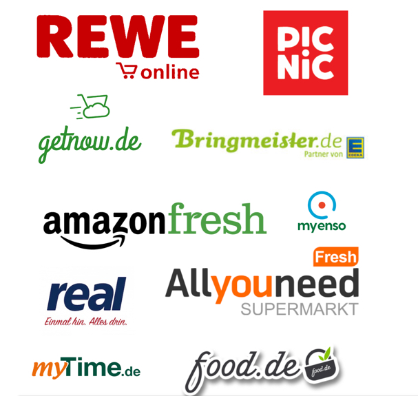 Online Grocery Retailers Germany
