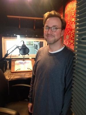 Pete Rohan in Studio 1.