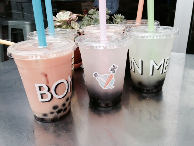 Try adding boba pearls to any of our house made drinks!