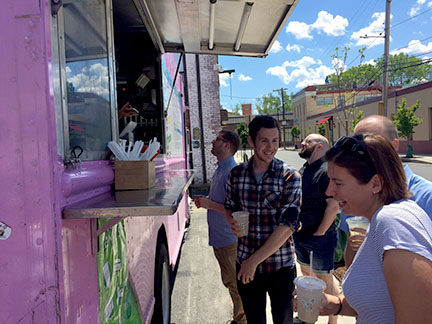 Cambridgeport  Thursdays 11a-2p  New on the scene and right in the parking lot of our good friends at  Wistia . Yay more Cambridge spots!
