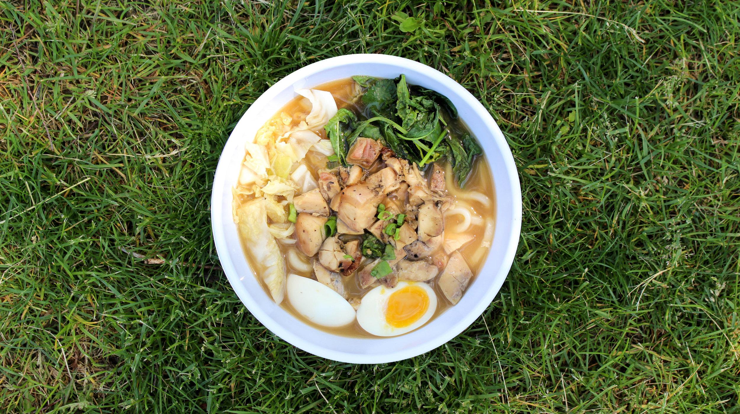 chicken udon noodle soup*