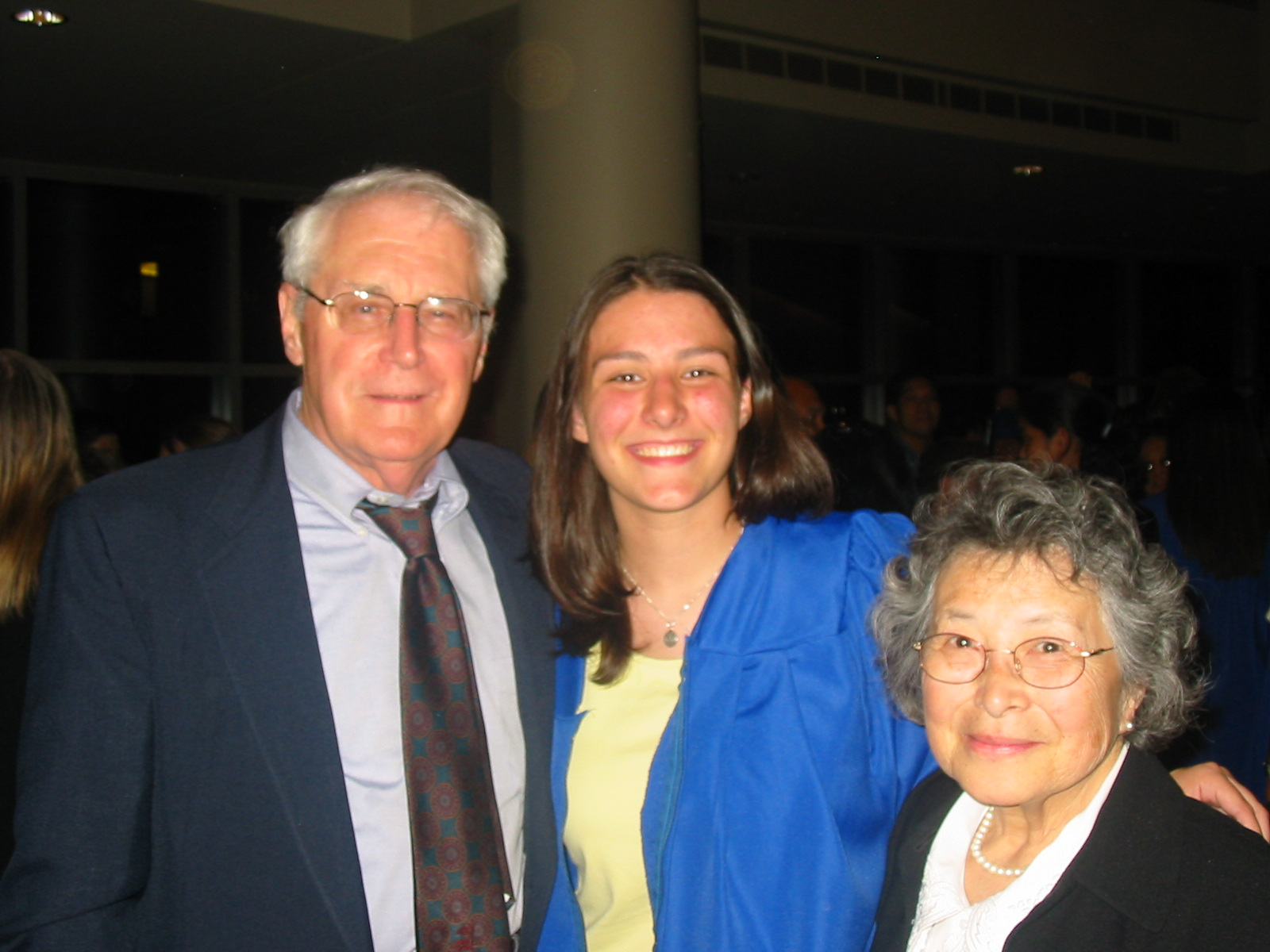 #TBT One of my better skin days: my high school graduation surrounded by my grandparents.