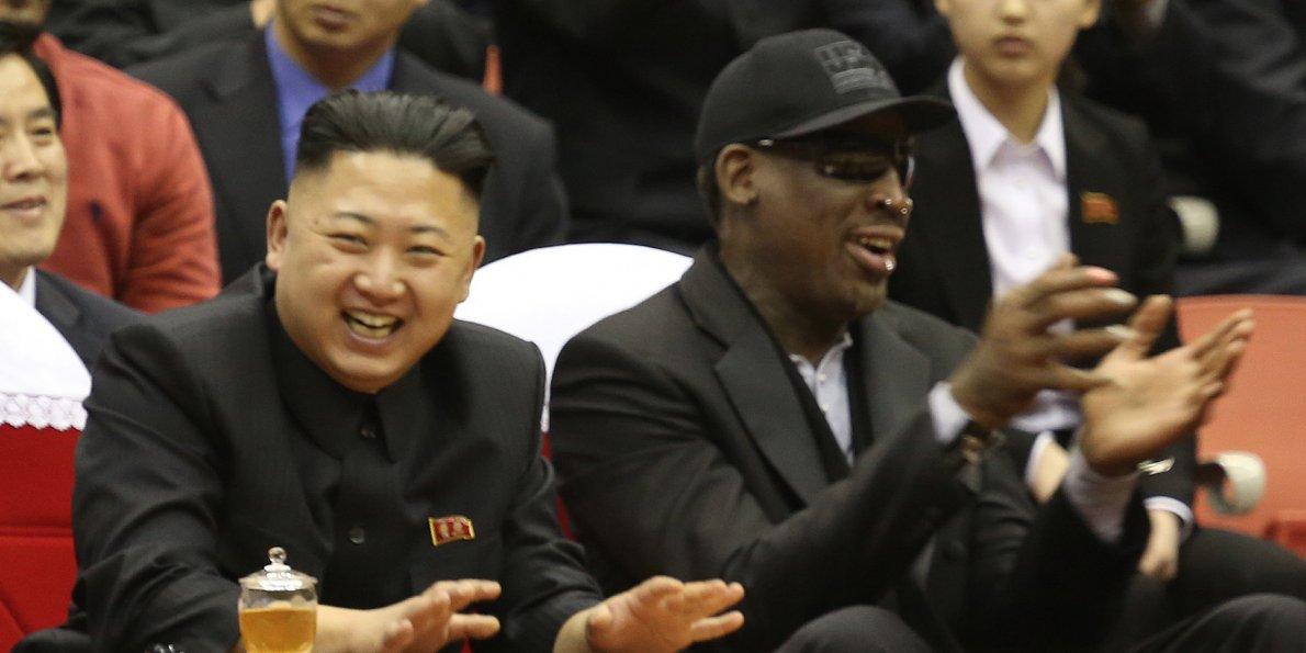 Weird Friends Kim Jong Un and Dennis Rodman.jpg