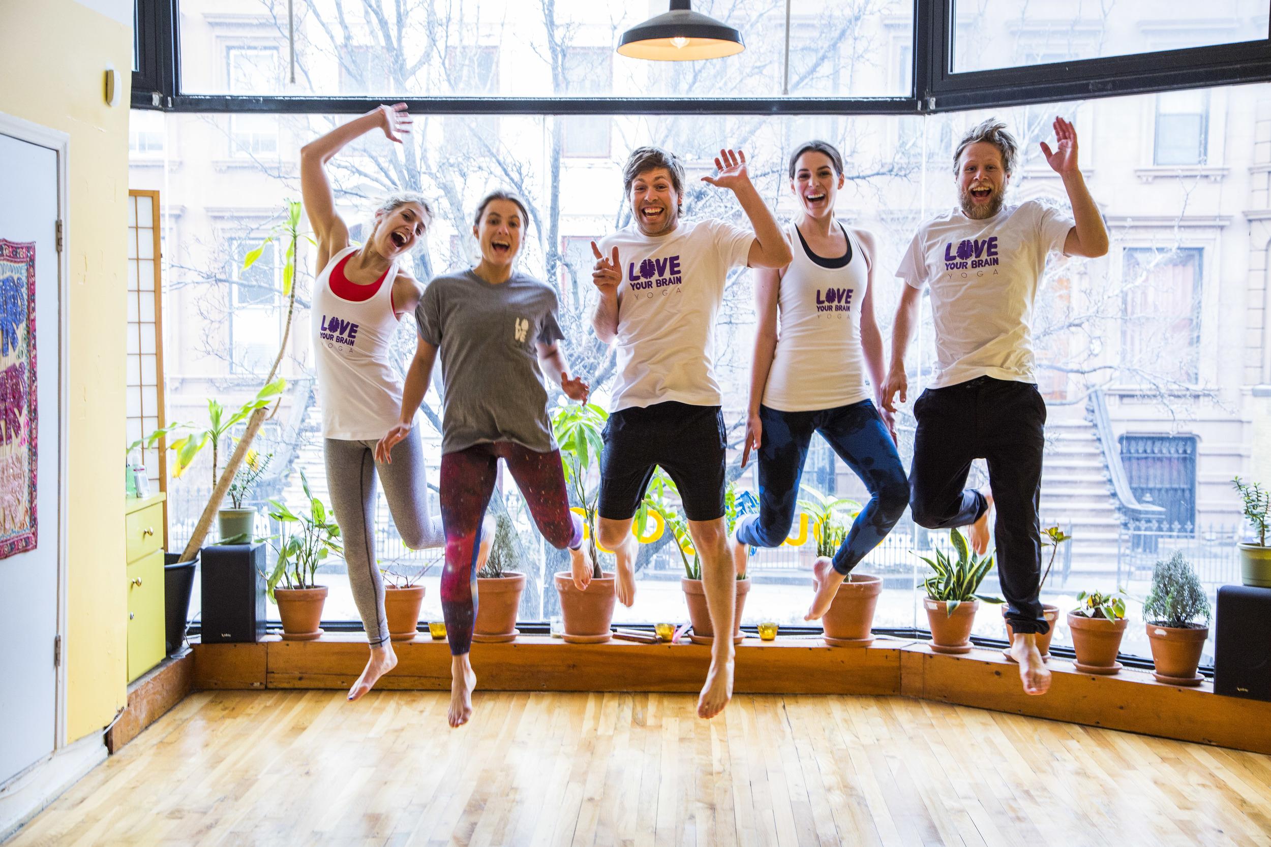LoveYourBrain yoga group