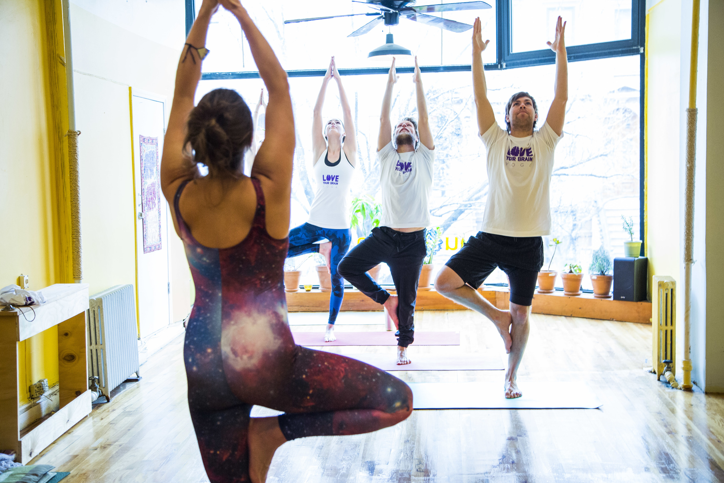 LoveYourBrain group yoga
