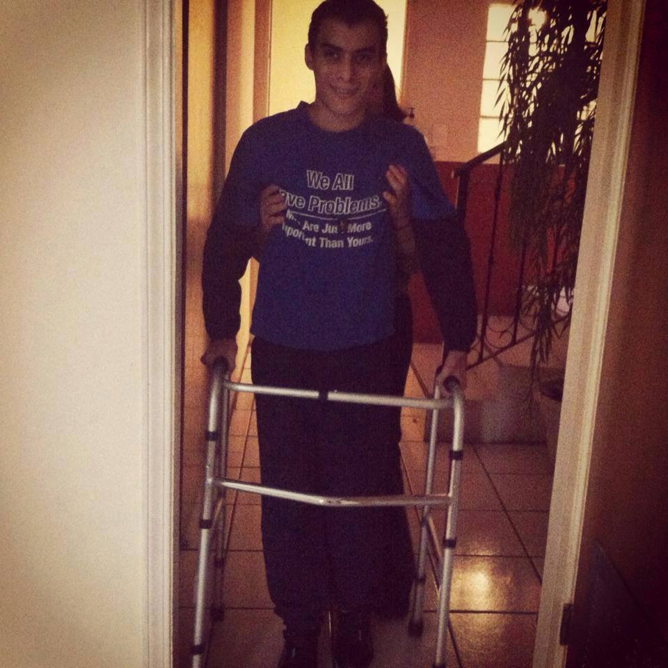 Learning to walk again!