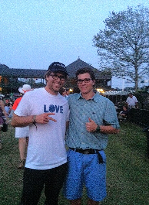 Kevin Pearce and I when we met 3 years ago.
