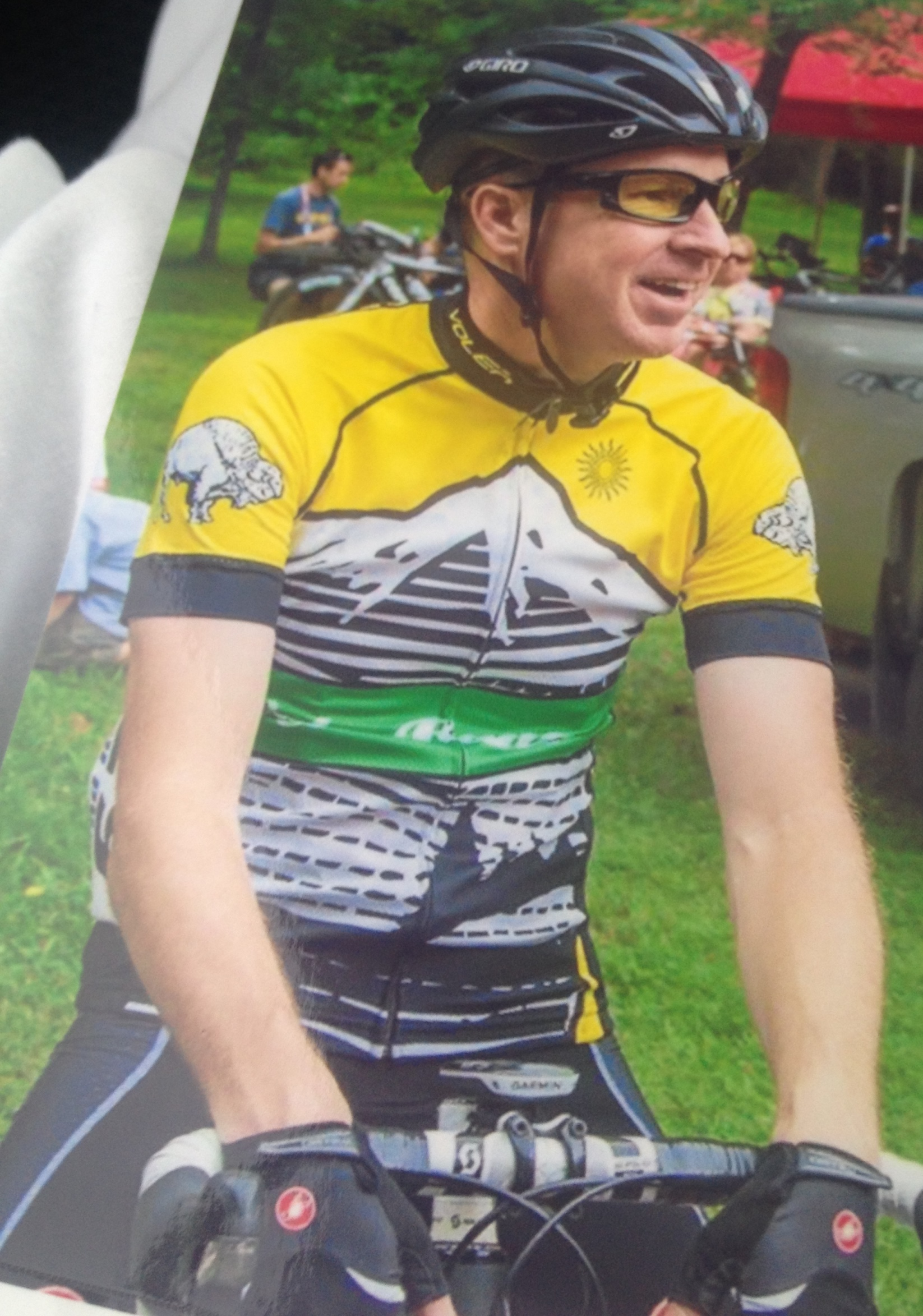 Me just before the start of the race on the day of my crash July 2, 2015