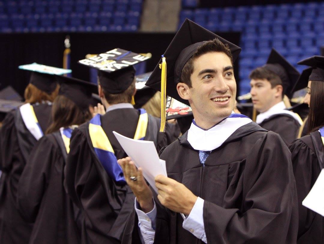 Graduating from Quinnipiac University 5 months before the accident
