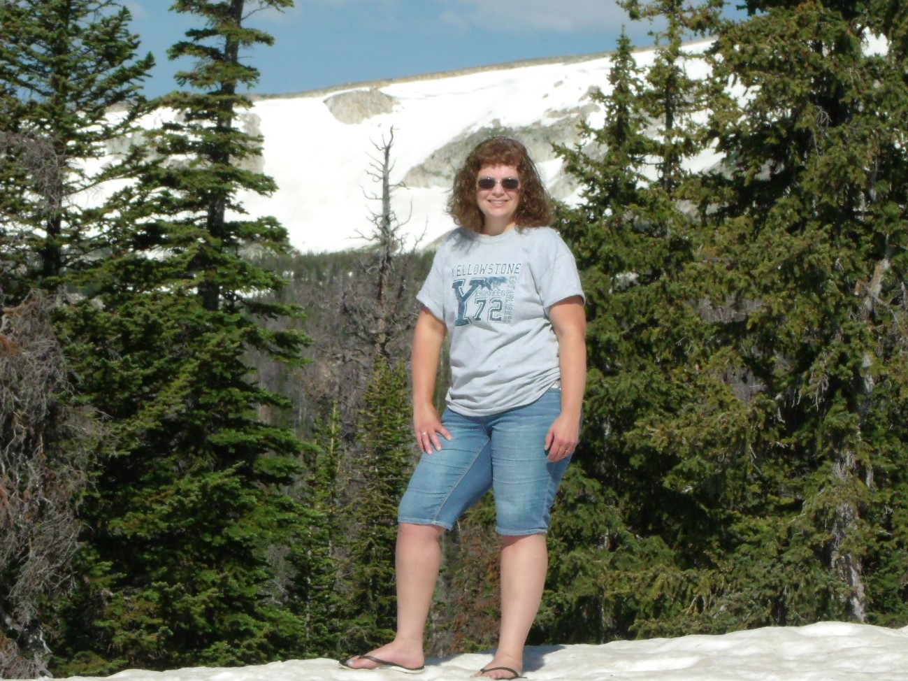 Hiking in Medicine Bow Mountains Snowy Range WY