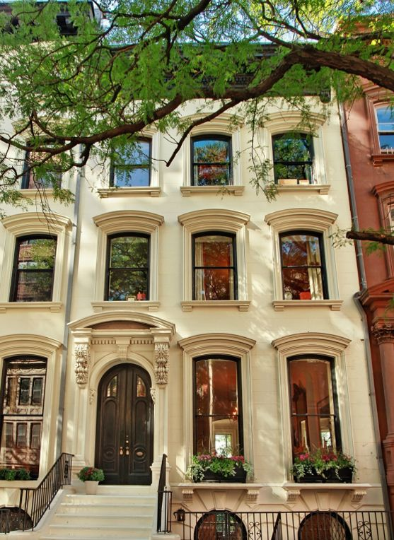Single hung wooden windows - simple but classic - cool NYC