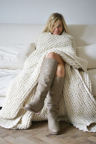 What a cosy blanket!