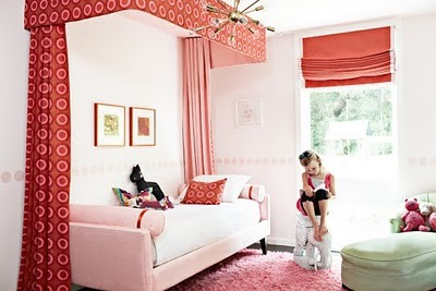Love the colour in this room!