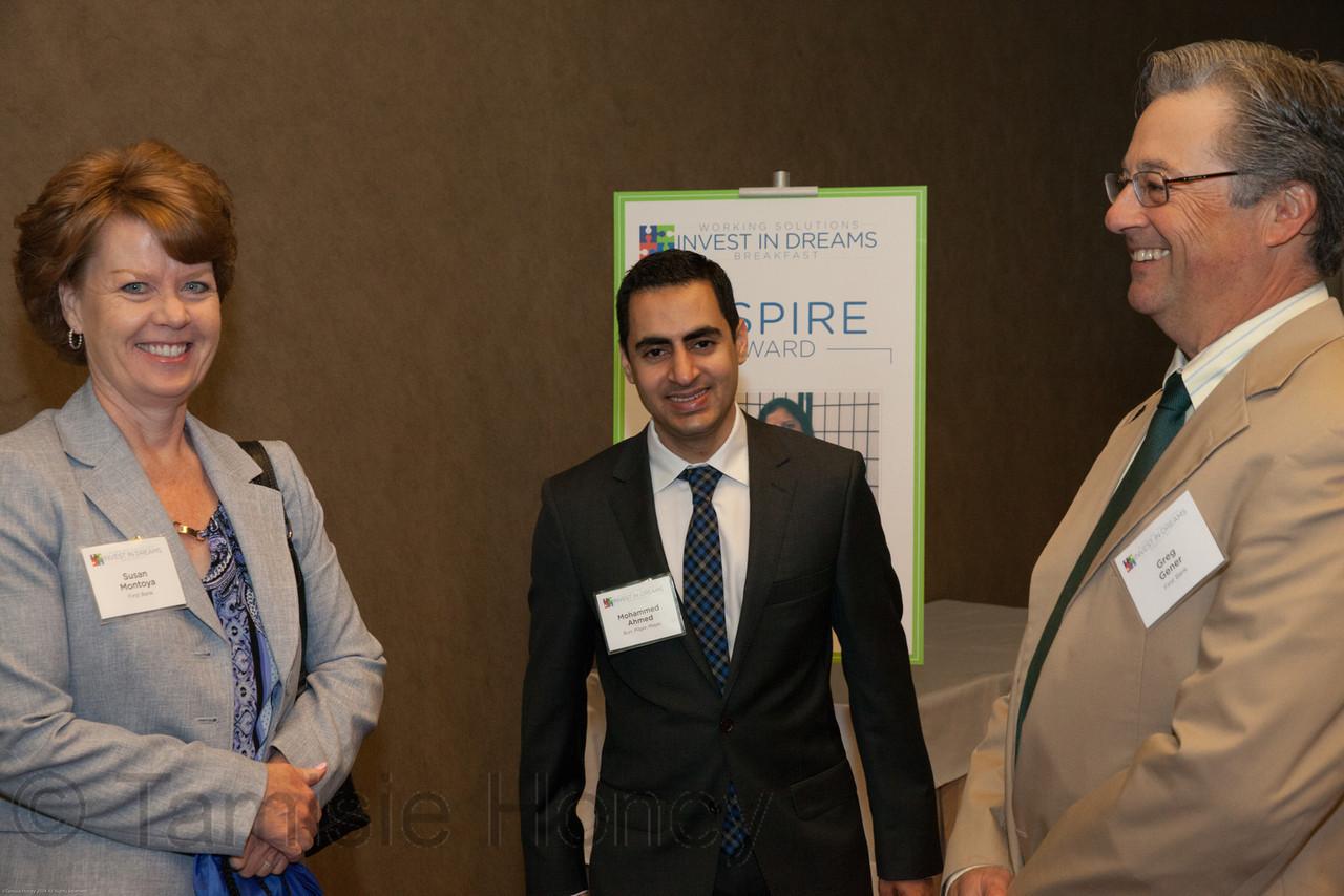 Susan Montoya, Mohammed Ahmed & Greg Gener