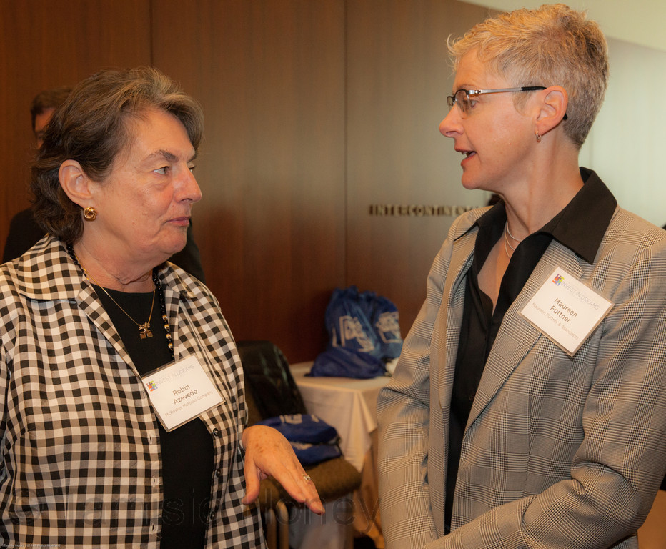 Robin Azevedo & Maureen Futtner