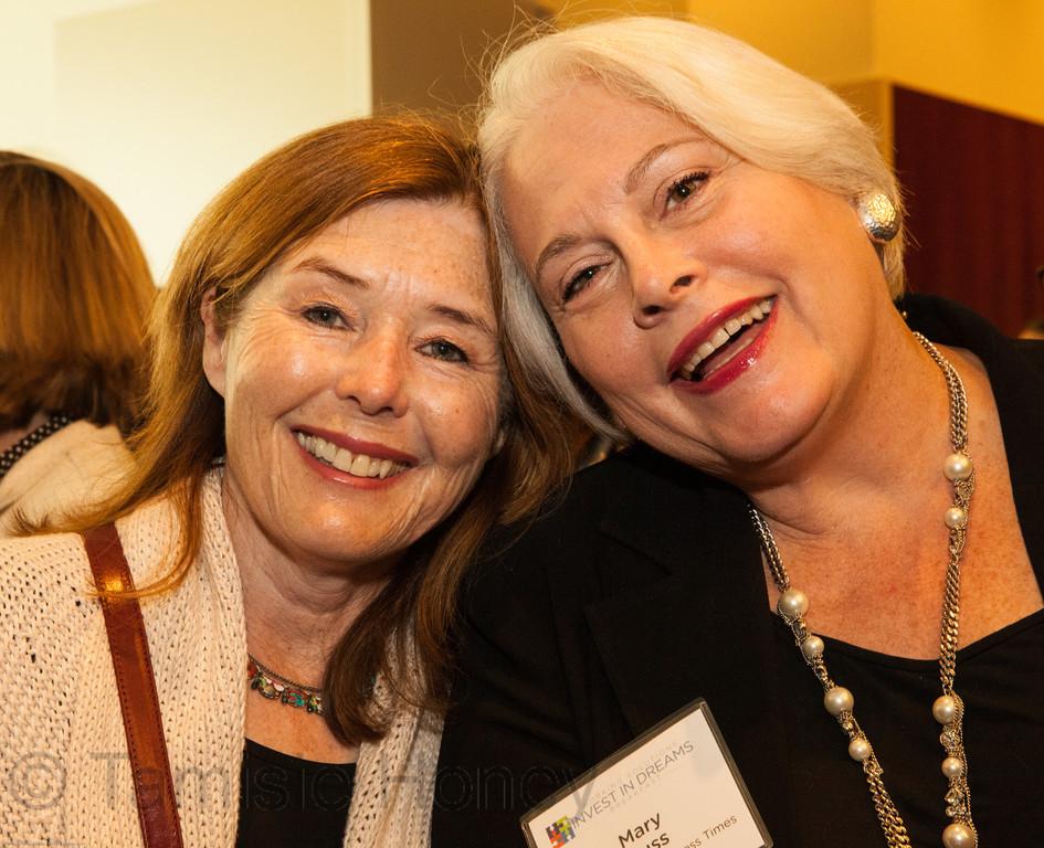 Heather Cameron & Mary Huss