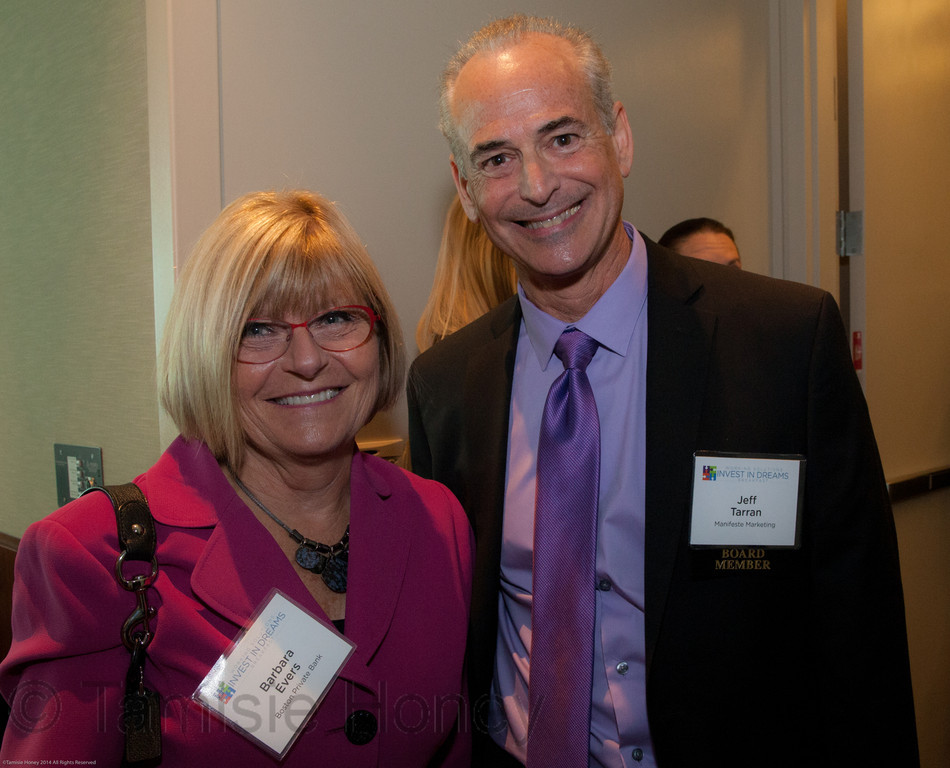 Barbara Evers & Jeff Tarran