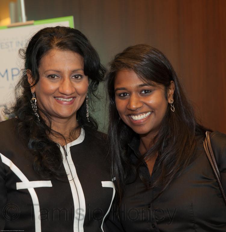 Roshini Chandran and Ranjani Mohana