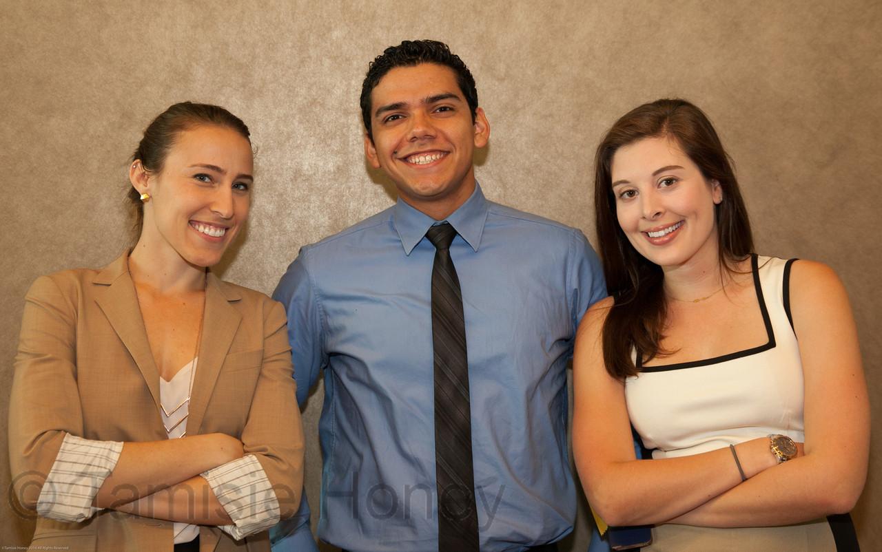 Corinne Gentile, Roberto Hernandez & Katie Nelson
