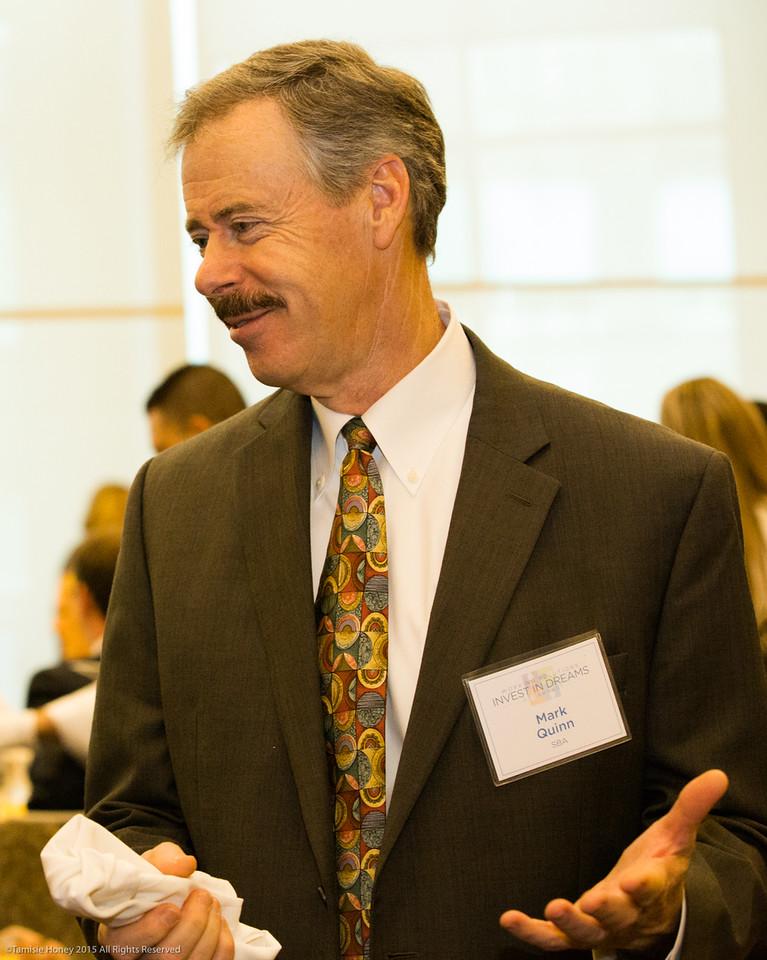 Mark Quinn of the San Francisco District SBA