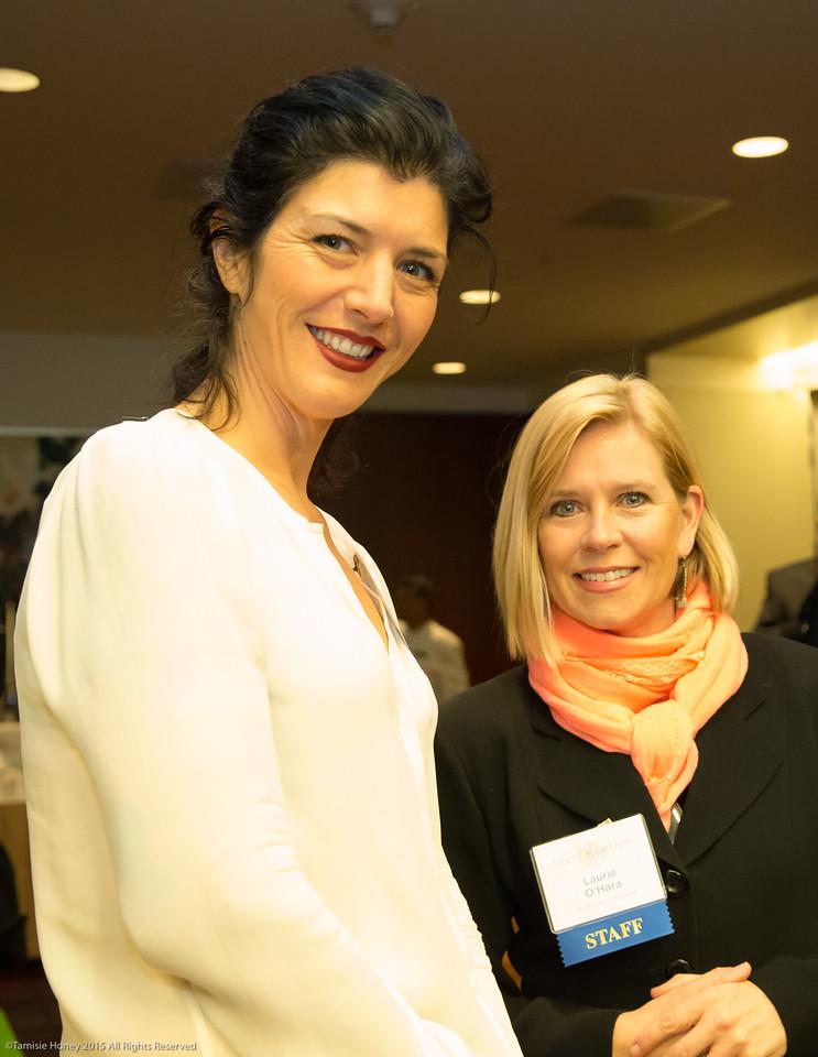 Serafina Palandech and Laurie O'Hara
