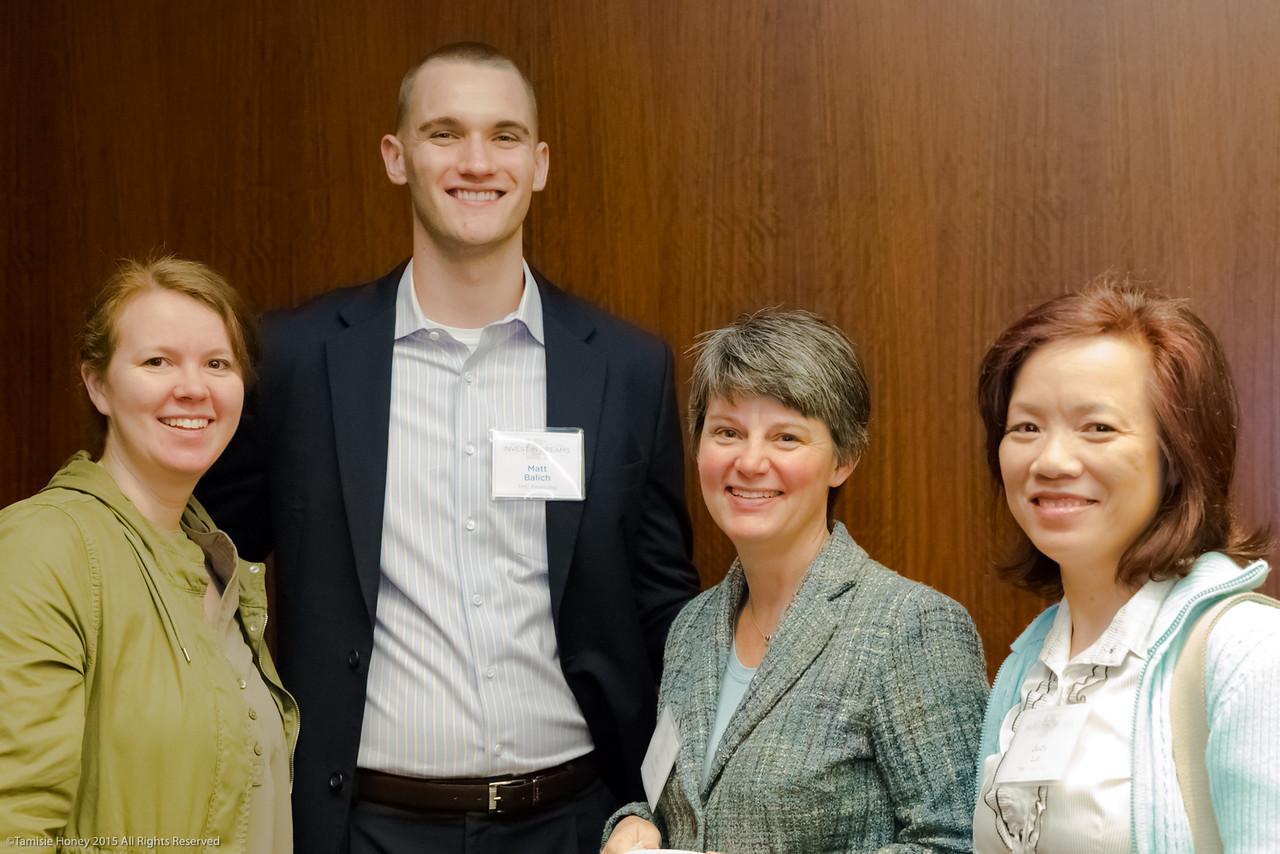 Kathryn Prescott, Matt Balich, Kori Skinner, and Judy Lai of TMC Financing