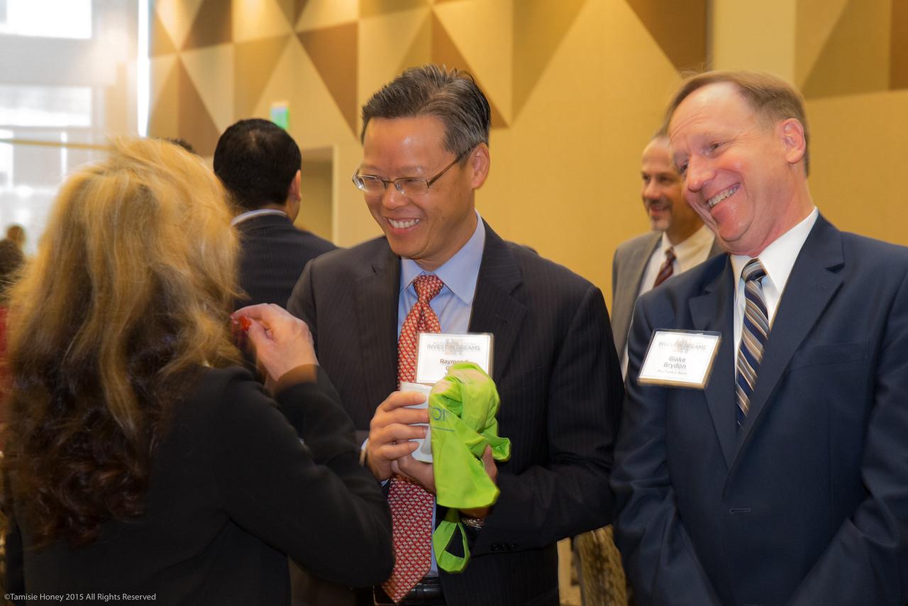 Raymond Quan of Umpqua Bank and Blake Brydon of Mechanics Bank