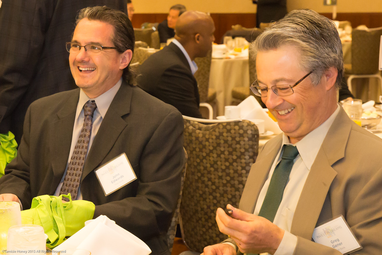 John Edwards and Greg Gener of First Bank