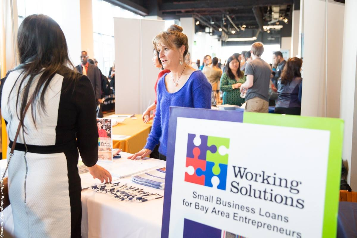 Working Solutions Outreach & Business Development Director Sandy Mackovich at Flavors of San Francisco 2015