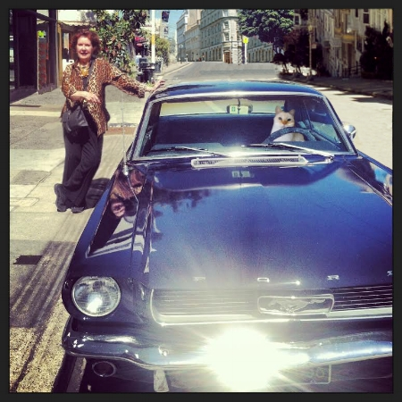 Susan's Prized 1966 Classic Mustang