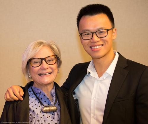 Barbara Morrison of TMC Financing and Victor Wong of NerdWallet