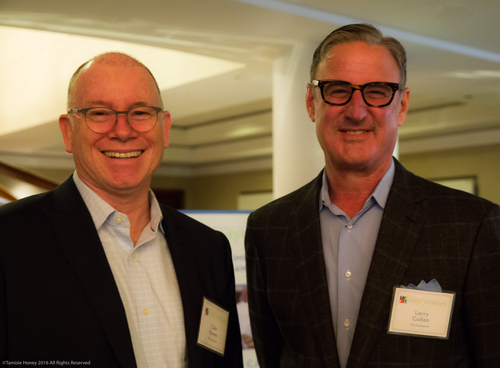 Cole Kinney and Larry Colton of G2 Insurance