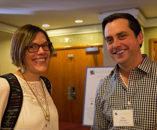 Nichole Carpenter and Nick Heustis of Whole Foods
