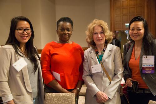 Ada Yim, Sheila Lewis, Dottie Dutton, and Nona Lim
