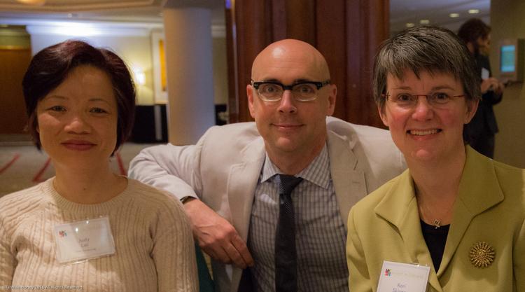 Judy Lai, Ray Monahan, and Kori Skinner of TMC Financing