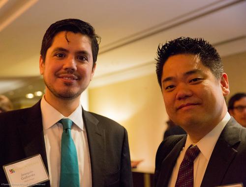 Joaquin Gallardo of Wells Fargo and a Wells Fargo guest