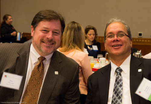 Donald Mercer and Jacques Sanchez of Bank of the West
