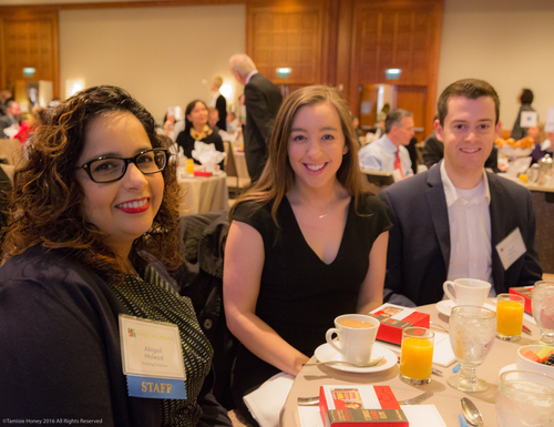 Abigail Mcleod of Working Solutions, Michelle Wilson and Geoff Bosloy of Burr Pilger Mayer