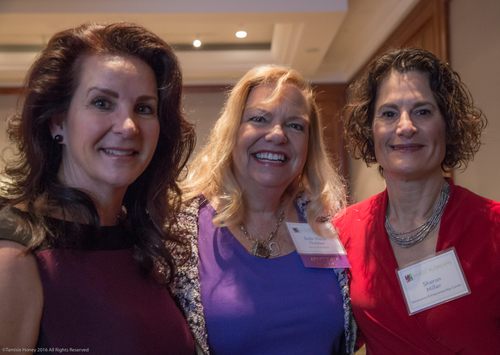 Kim Kaselionis of Breakaway Funding, Dale Marie Golden of Torrey Pines Bank and Sharon Miller of the Renaissance Entrepreneurship Center