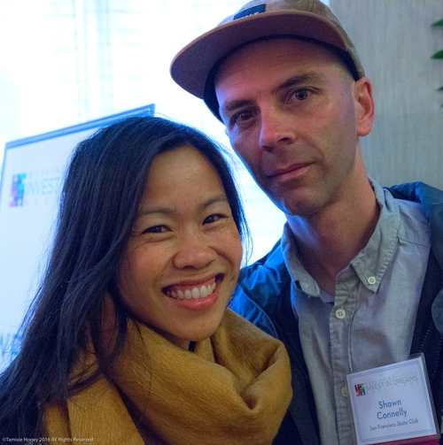 Working Solutions clients Thuy Nguyen and Shawn Connelly of SF Skate Club