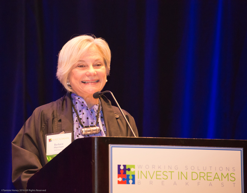 Barbara Morrison, President and CEO of TMC Financing and President of the Working Solutions Board of Directors