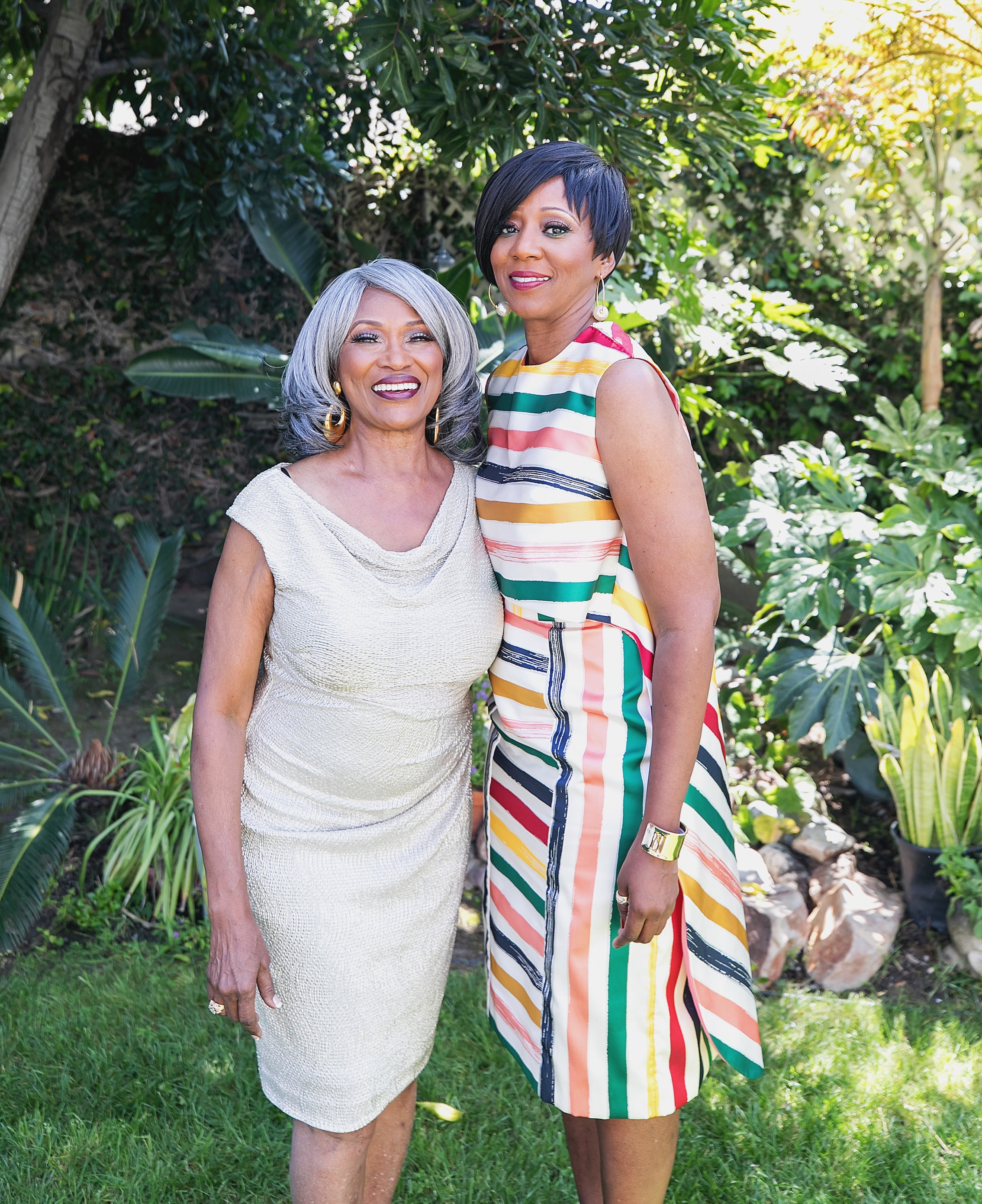 Dionne with her mother, iva jewell (Photo courtesy of Dionne McCray)
