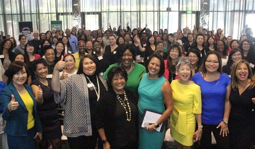 Attendees at the Minority Women's Business Conference in San Jose  (Photo courtesy of the California Asian Pacific Chamber of Commerce)