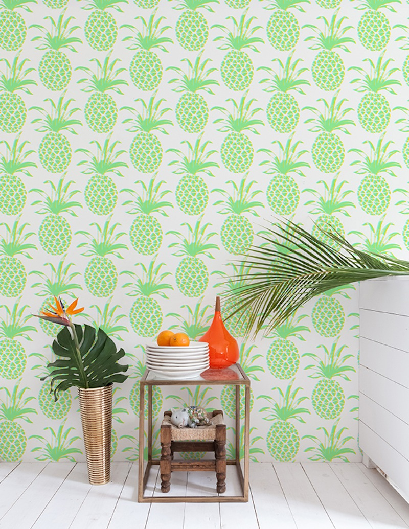 They even showed up in two of my recent projects. Pina wallpaper by Aimee Wilder, prop styling by Spaced Out.
