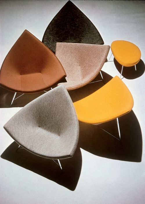 Coconut chairs by George Nelson for Herman Miller